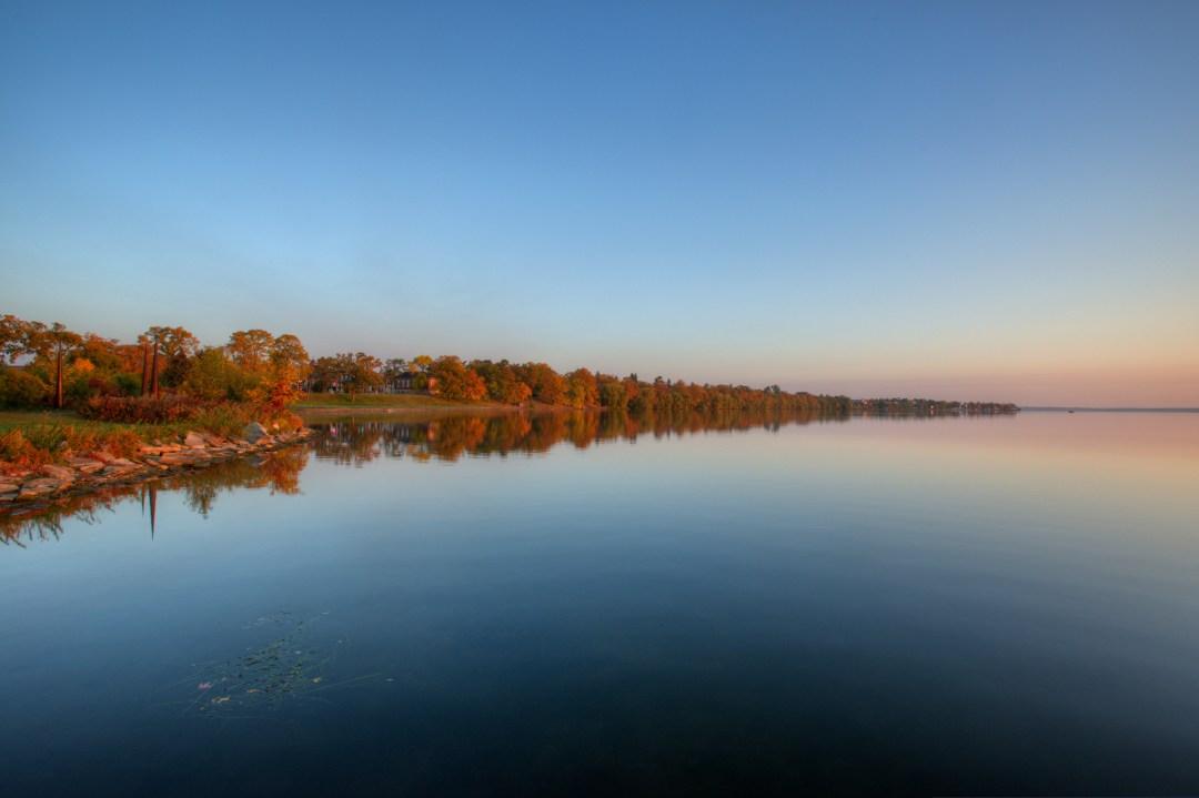 Lake Bemidji shoreline