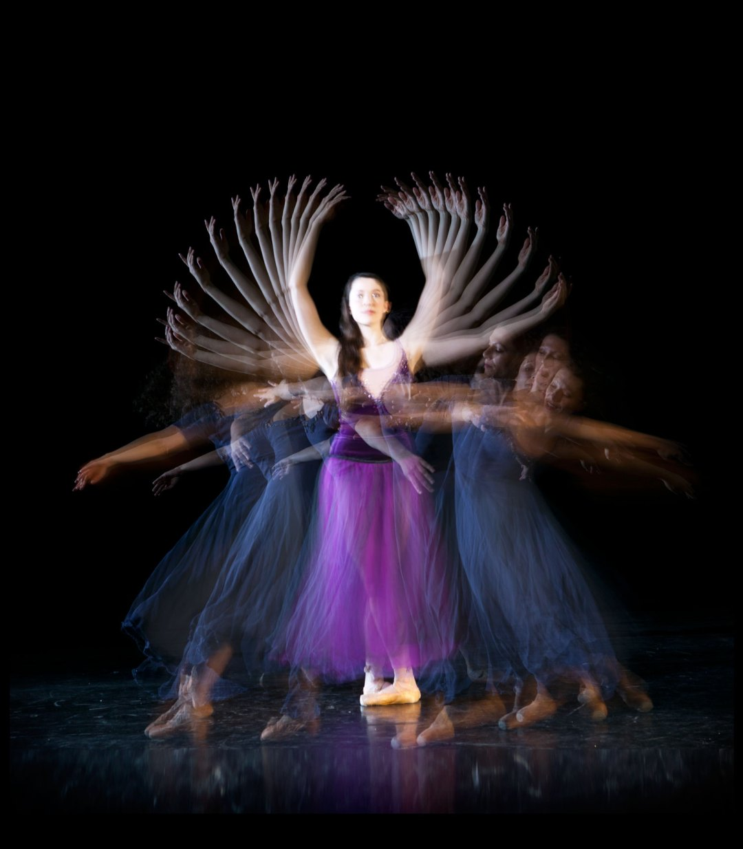 """Frame-by-Frame Dancing. Image by Eric Saulitis. Courtesy of <a href=""""http://www.jsballet.org/"""" target=""""_blank"""">James Sewell Ballet Company</a>"""