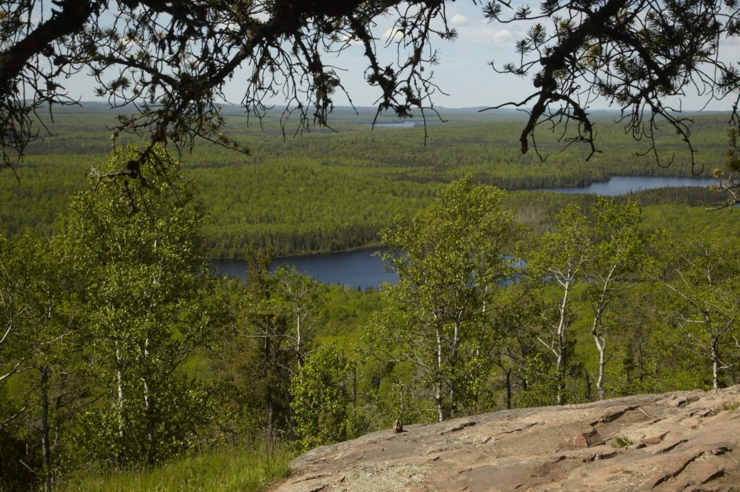 Overlooking the Boundary Waters