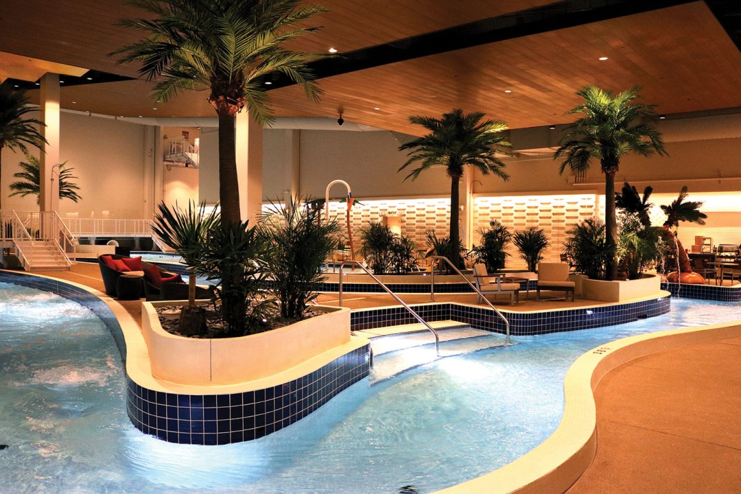 "The Lagoon's Lazy River. Image by <a href=""http://www.ticasino.com/"" target=""_blank"">Treasure Island</a>"