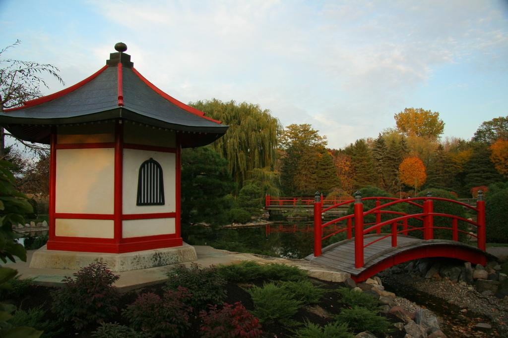 Japanese Garden at dusk Photo by Michael Hicks/flickr https://flic.
