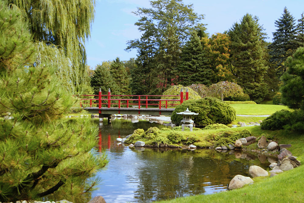 Japanese Garden at Normandale Community College