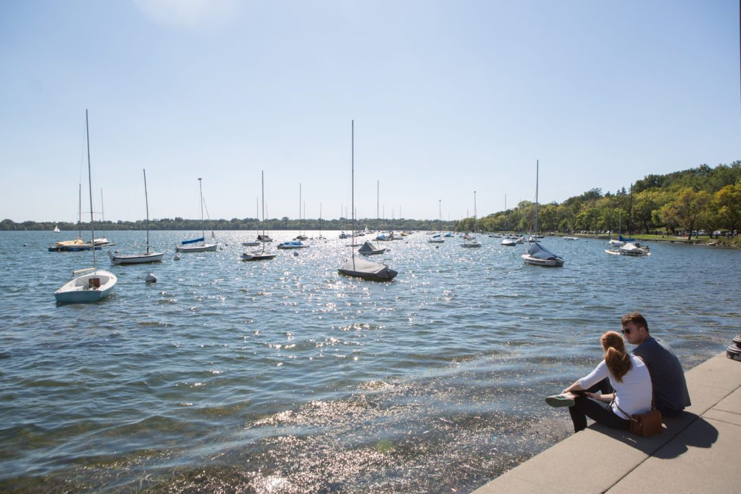 Boats on Lake Harriet. Image by Erica Loeks/Greenspring Media