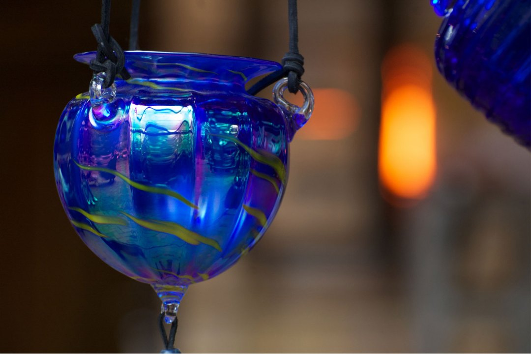 "Blown Glass Decoration. Image by <a href=""https://flic.kr/p/cF8Ahb"" target=""_blank"">Jeff Kubina/flickr</a>"