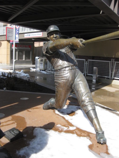 Harmon Killebrew bronze statue at Target Field