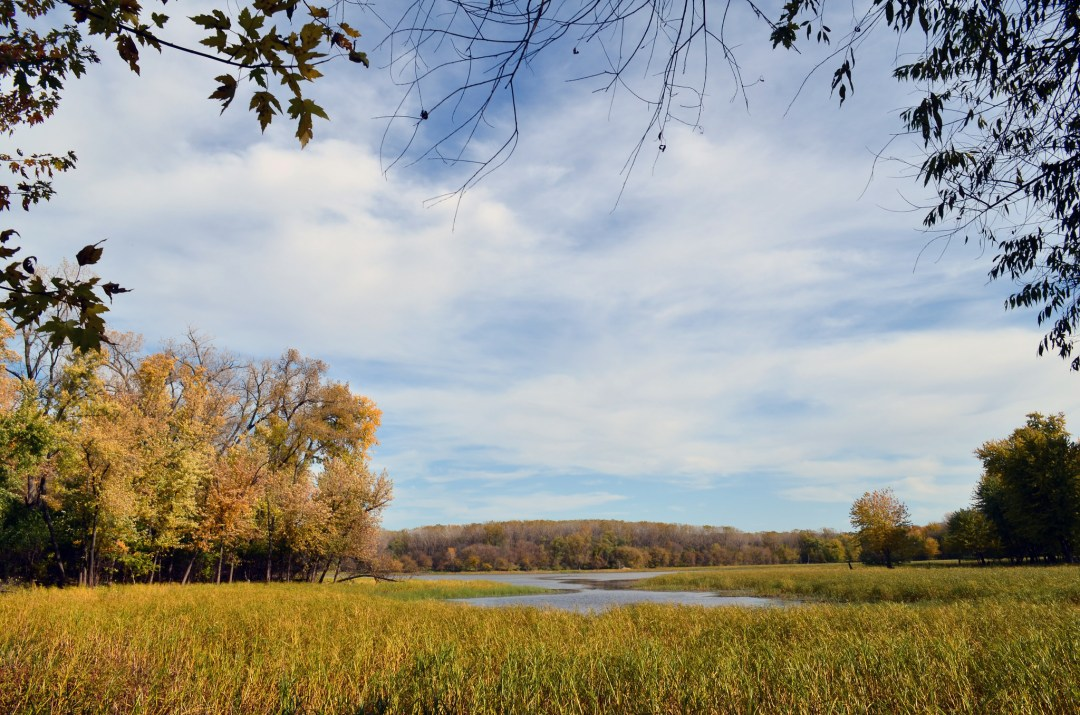 Peterson Pond at the Minnesota Valley National Wildlife Refuge.