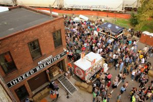 Indeed Brewing Co.'s outdoor fall festival