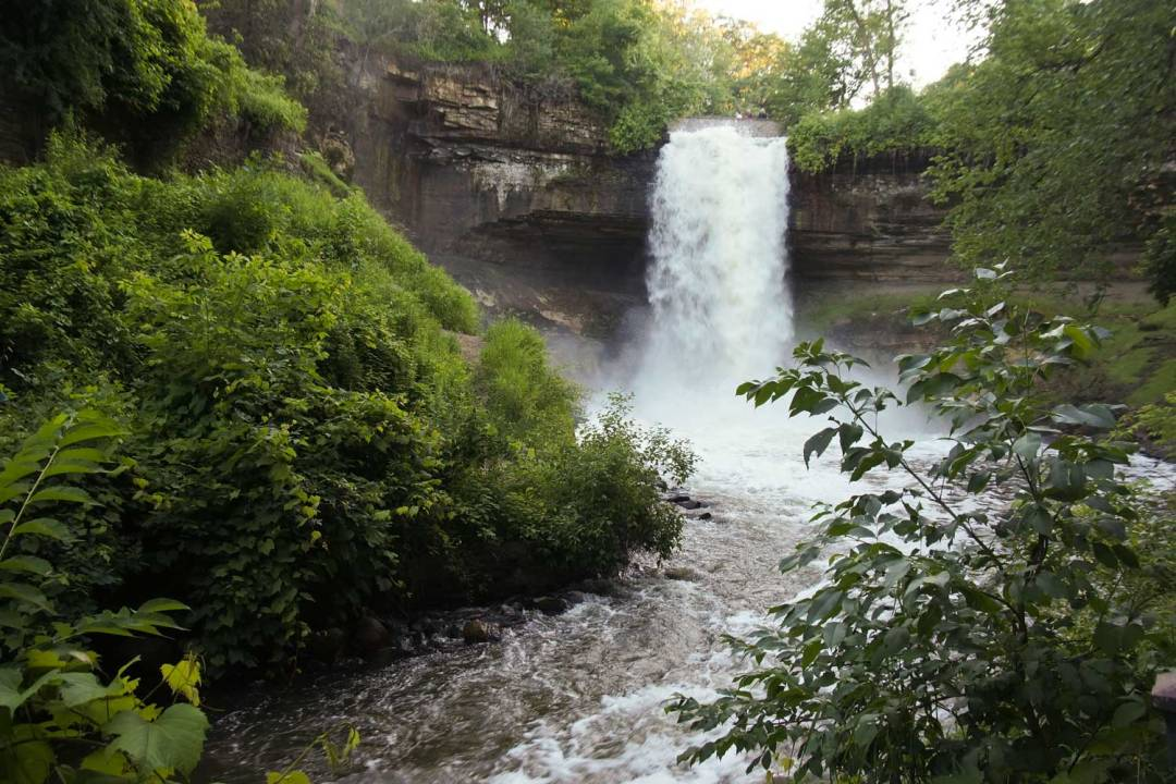 Seven Wonders of the Twin Cities Minnehaha Falls