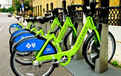Biking with Nice Ride Minnesota
