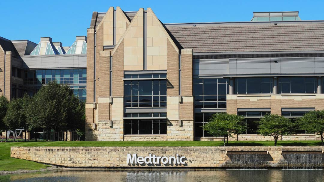 Exterior photo of Medtronic Corporate