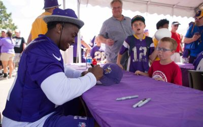 Vikings Summer Training Camp