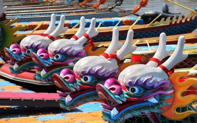 Watch the Dragon Boats Race in St. Paul