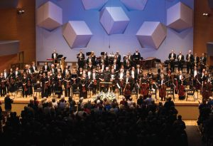 Osmo Vanska conducts the Minnesota Orchestra in a program of Sibelius at Orchestra Hall in Minneapolis March 29, 2014.