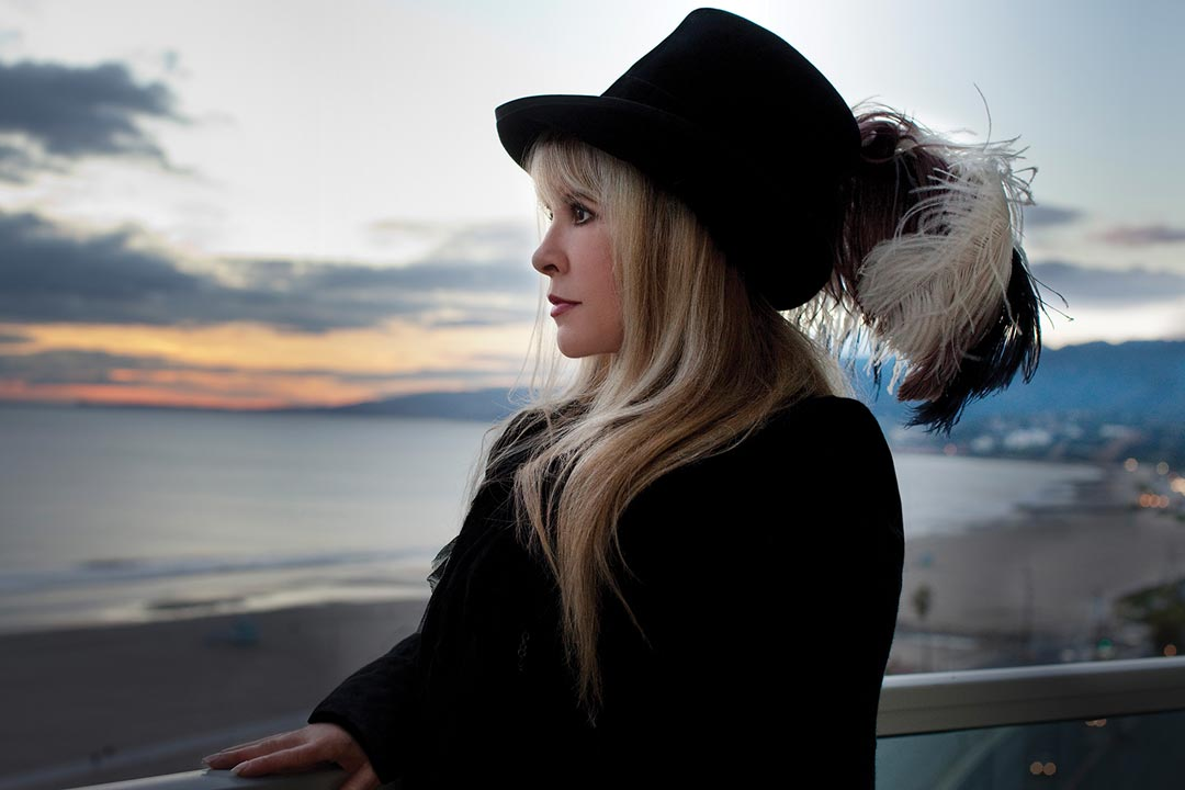 A portrait of Stevie Nicks.