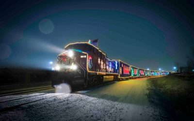 CP Holiday Train Comes to Minnesota