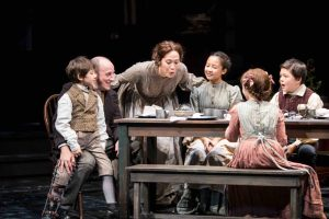 """Photo courtesy of the Guthrie. The Cratchit family in the 2016 """"Christmas Carol"""" rendition."""