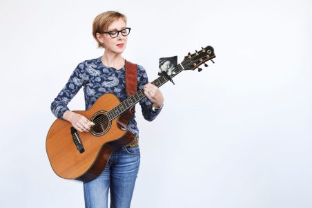 Photo by William Clark, courtesy of Jungle Theater. International singer/songwriter Jonatha Brooke is taking the stage with song and prose about taking care of her mother.