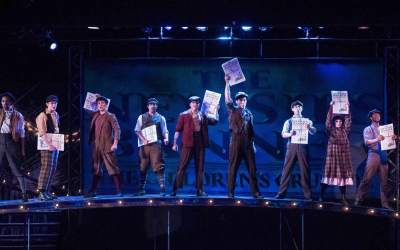 Newsies Seize the Stage