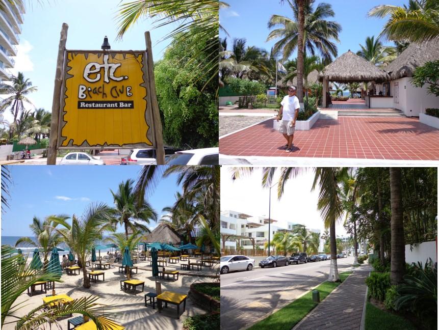 Nuevo Vallarta / Flamants: ETC restaurant
