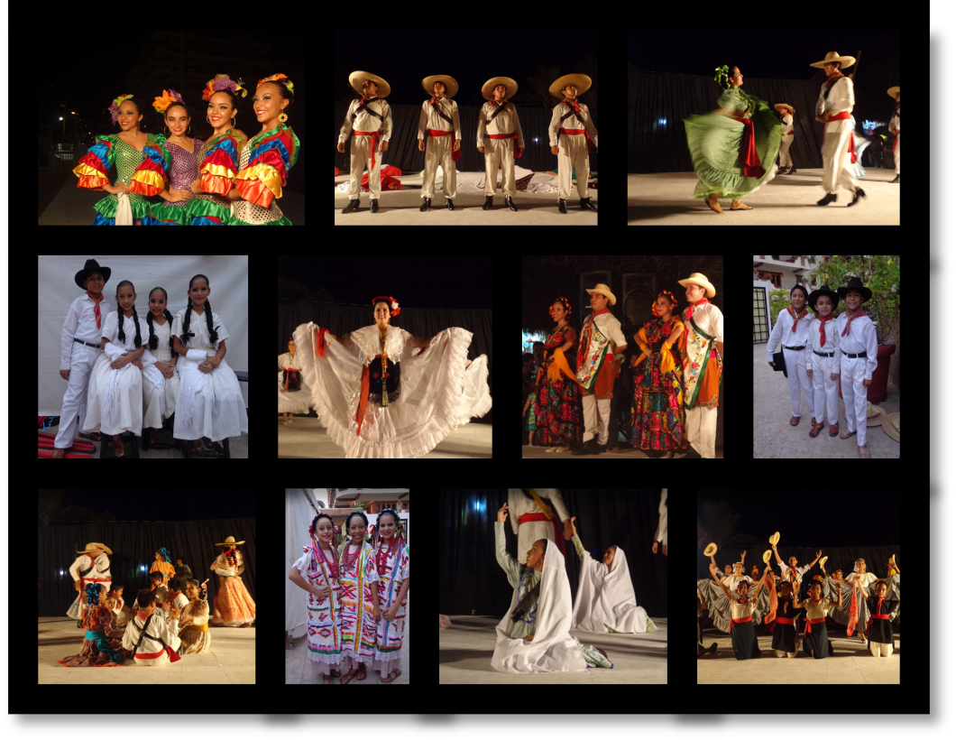 Art and Culture of Puerto Vallarta: Folkloric Dance Performance in Lazaro Cardenas Park, Puerto Vallarta, Mexico