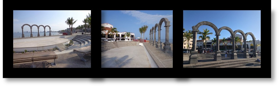 Art and Culture of Puerto Vallarta: Los Arcos Amphitheater along the Malecon in Puerto Vallarta, Mexico