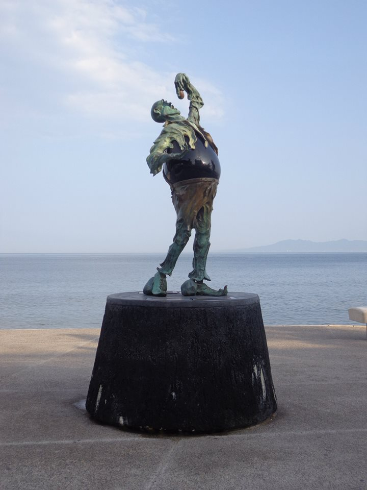 Malecon Statue In Puerto Vallarta Mexico Puerto