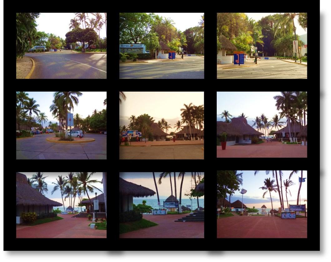 Nuevo Vallarta / Flamingos: Nuevo Vallarta Public Beach Access Point 2.