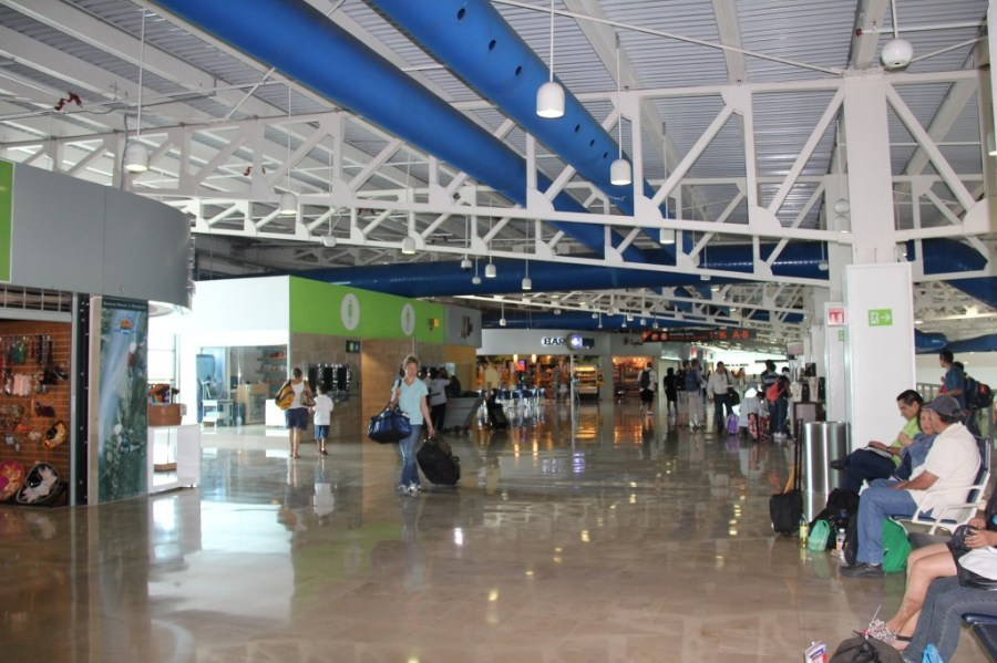 Upper Floor of Puerto Vallarta Mexico Airport PVR