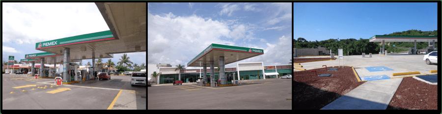 Pemex Gas Stations in Nuevo Vallarta & Sayulita, Mexico