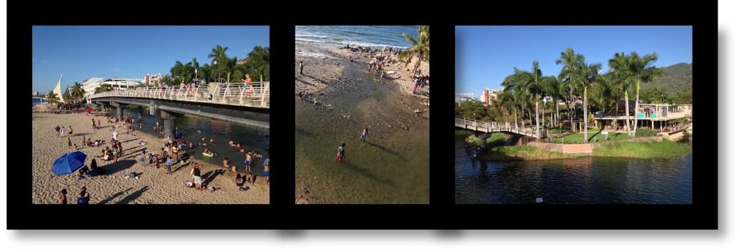 Rio Cuale in Puerto Vallarta Mexico