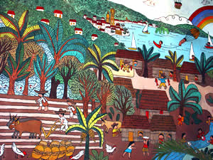 Manuel Lepe Mural Old City Hall Puerto Vallarta Mexico