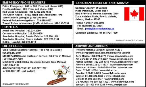 Emergency Numbers - CANADA