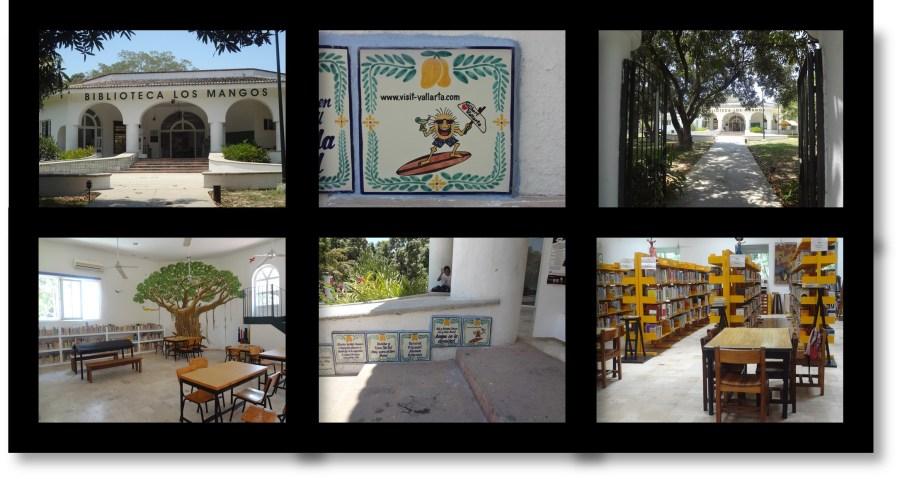 Los Mangos Library Tile