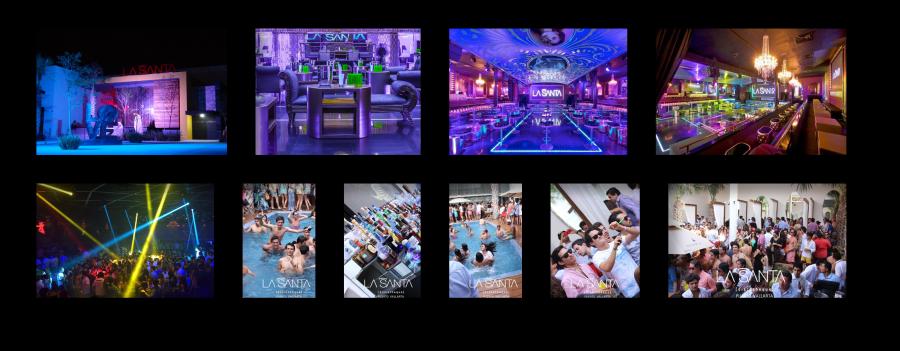 La Santa nightclub in the Hotel Zone of Puerto Vallarta, Mexico