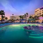 Hard Rock Hotel - Pool Night Time