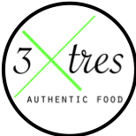 Logo for 3x3 Authentic Food Restaurant in Nuevo Vallarta