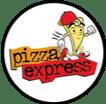 Logo for Pizza Express in Nuevo Vallarta