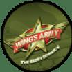 Logo for Wings Army Restaurant in Nuevo Vallarta