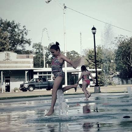 Frisco Park Fountain