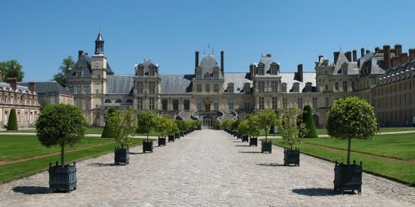 O castel de Fontainebleau