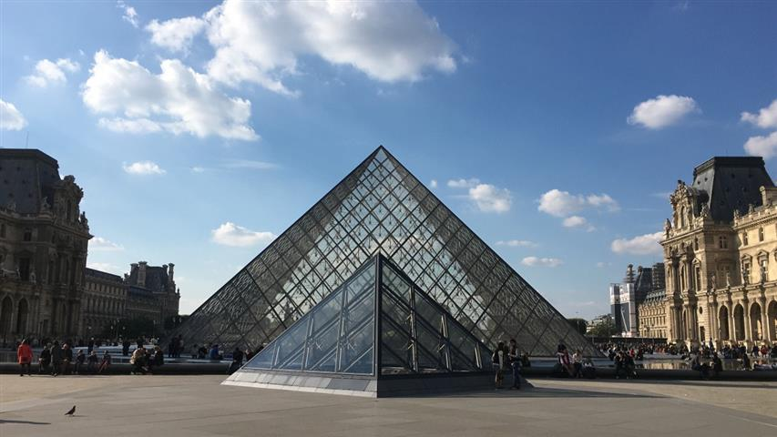 Pyramids Louvre