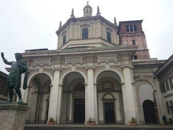 Capilla de San Hipólito -  Basílica de San Lorenzo Milán