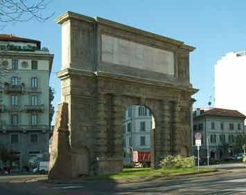 Porta Romana de Milán