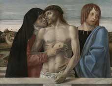 Cristo en Piedad - Giovanni Bellini - Brera - visitas guiadas milan