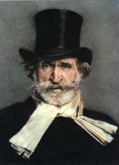 Giuseppe Verdi en Milán - Teatro de Verdi de Boldini