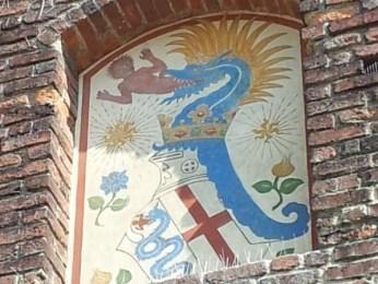 Emblema de la familia Visconti - visitas guiadas por Milán