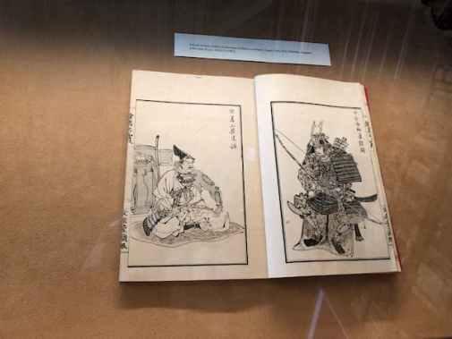 Libro ilustrado de la exposición  Páginas Japonesas - visitas guiadas milan