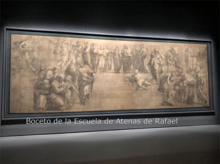 El cartón de la Escuela de Atenas de Rafael - VISITAS GUIADAS MILAN