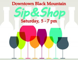 Sip & Shop in Downtown Black Mountain