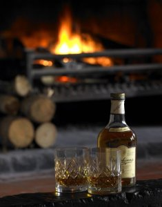 Whisky at the fire